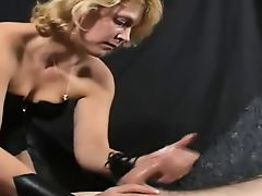 Masturbation Therapy - Penis Milking Specialist At Work