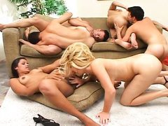 orgy with bisexuals and hot milfs