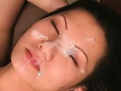 Asian Whore Receives A Creamy Facial