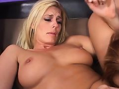 Lesbian pornstars sucking each other tits and juicy pussy