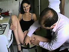 Sophie a milf in a threesome