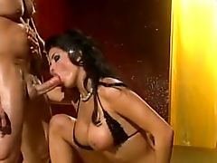 Hot Slutty Cougar Fucked Over By 2 Thick Cocks