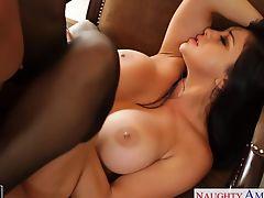 Ultra sexy brunette Audrey Bitoni fucking