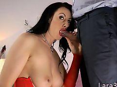 British milf anally creampied by hard dick