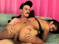 Bitchy Latina Stepdaughter Ruby Rayes Fucks PE Teacher