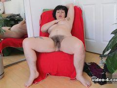 Olivia Rose in Masturbation Movie - ATKHairy