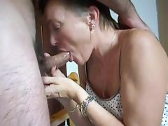 mature wife prefers cum to swallow