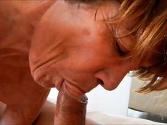 Granny clarill saggy tits suck conscientiously boyfriend