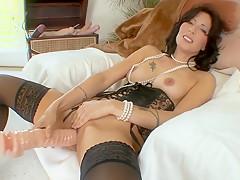 Exotic pornstar Zoey Holloway in amazing masturbation, solo adult movie