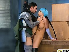 Hot MILF cosplayer Abigail Mac screwed so hard and deep