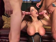 Cathy Barry in Anal DP 3some