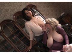 Big boobs lesbian librarians