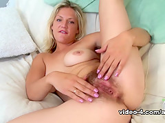 Fabulous pornstar in Amazing Blonde, Hairy adult scene