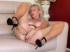 Olivia Saint Masturbation and anal sex in lingerie