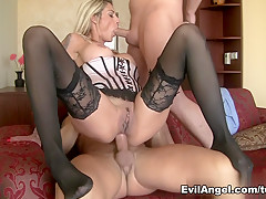 Exotic pornstars Klarisa Leone, David Perry, Thomas Stone in Amazing Big Ass, Blonde porn scene
